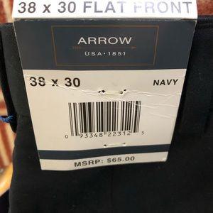 Arrow Pants - Arrow Men's Flat Front Dress Pants